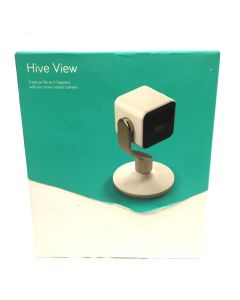HIVE View Smart Indoor Camera with HD livestreaming and person detection