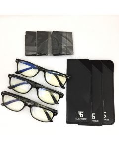 BLUE LIGHT BLOCK GLASSES  - 3 SET