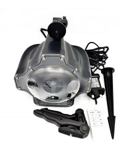 LED SNOW FALL LIGHT PROJECTOR W/ REMOTE