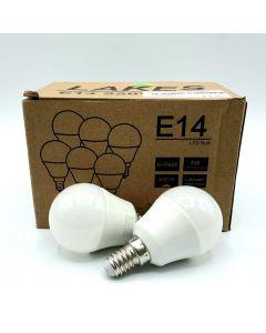 LED BULB - E14/6 PCS