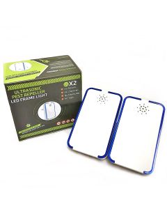 ULTRASONIC PEST REPELLER-2PC