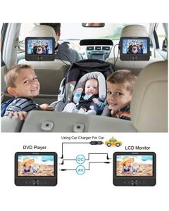 DUAL SCREEN DVD PLAYER