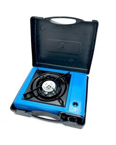 PORTABLE GAS COOKER  W/ CARRIER  CASE