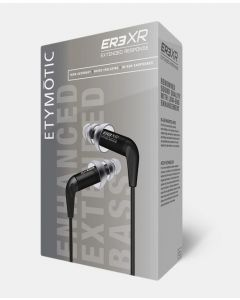 Etymotic ER3XR Extended Response Balanced Armature In-Ear Earphones, Black