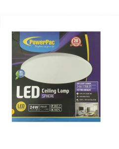 POWERPAC PPC330 24W LED Ceiling Lamp SPHERE Daylight