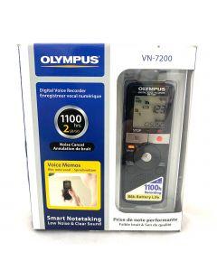 Olympus VN-7200 Digital Voice Recorder, Black