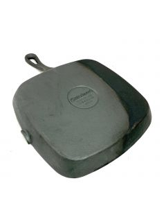 Cuisinart Cast Iron Grill Pan, Black, 9.25 Inches, (CIPS30-23)