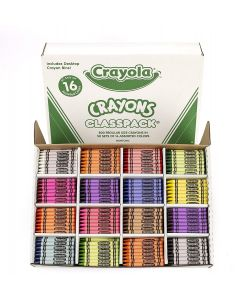 CRAYOLA 50 SETS OF 16 ASSORTED COLORS