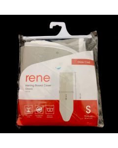 Rene Ironing Board Cover Heat Resistant [3mm thickness padding] Iron Board Casing Small E50129  107 x 43 cm