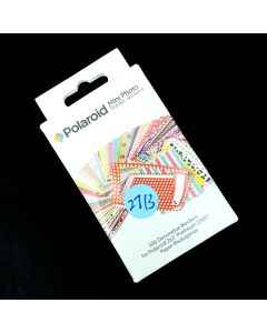Polaroid Colorful Square Photo Frames for 2x3 Zink Paper (Mint, Snap, Zip, Z2300)