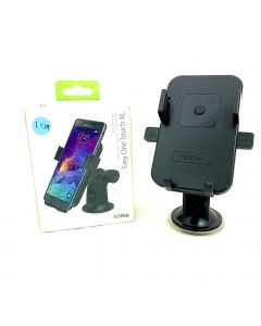 iOttie Easy One Touch Windshield Dashboard Car Mount Holder for iPhone 7/6s/6, Galaxy S8/S7, Retail Packaging, Black