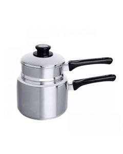 Zebra Double Boiler With Long Handle Classic, 18cm