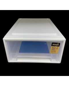 HOUZE 7L Single Tier Drawer (Gen. X) (Dim: 30.5x22.5x12cm)