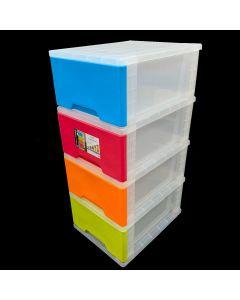Algo 4-Tier E-Jumbo Stocker Plastic (AL-8854)