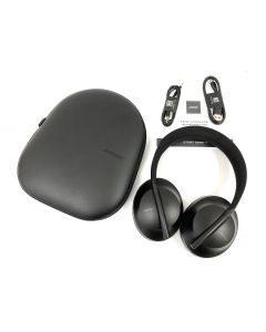 OVER-EAR HEADPHONES-BLACK