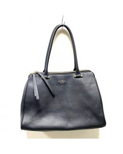 KATE SPADE SHOULDER BAG-BLK CALF LEATHER