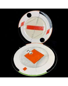 VILLEROY & BOCH PLATE-2PC/30CM/COLORFUL