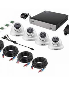 INDOOR/OUTDOOR CCTV ZOSI H.264 NETWORK DIGITAL VIDEO RECORDER AND DIGITAL DAY/NIGHT SECURITY CAMERA KIT