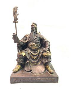 Guan Gong 24cm Display (Brass)