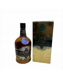 TEACHER'S ROYAL HIGHLAND DE LUXE BLENDED SCOTCH WHISKY-750ML 12 YEARS OLD