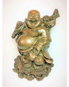 Hotei Sculpture Statue in Bronze