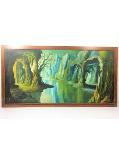 Forest  Scenery Canvas Oil Painting