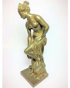Bronze Lady Circa Statue