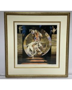 Poster in Frame Magic Signed By Charles Billich