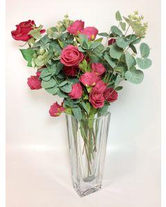 Vaso Stilizzato Crystal Vase