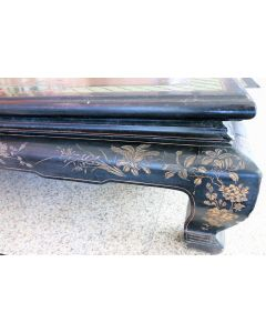 Chinese Antique Kang Table with Carving