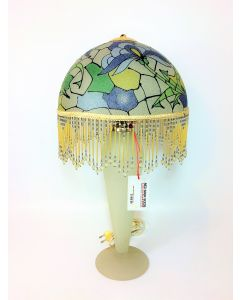 Tiffany in Style Frosted Glass Lamp