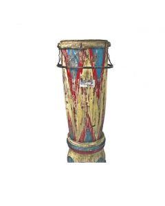 Vintage Wooden Drum Instrument