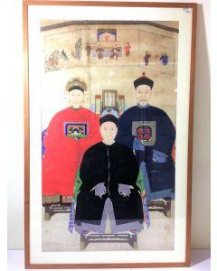 Ancestral Portrait of Qing Dynasty