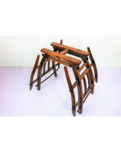 Vintage Horse Saddle Table