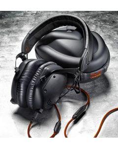 Crossfade M-100 Over-Ear Noise-Isolating Metal Headphone, Matte Black Metal