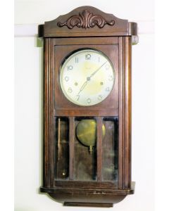 German Kienzle Wall Clock with Chimes
