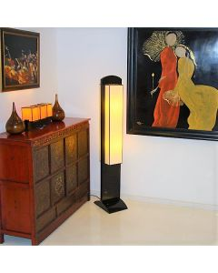 STELLA-BLACK Mai Home Floor Lamp