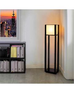 APRIL Black Lacquer Floor Lamp