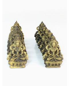 Small Bronze Tibetan Display
