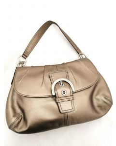 LADIE'S TOTE BAG-BRONZE COLOR