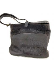 SHOULDER BAG-BROWN