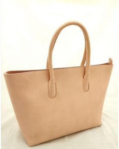 LADIE'S TOTE BAG-PEACH COLOR