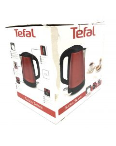 Tefal Subito Select Stainless Steel Pepite Red, 1.7 L