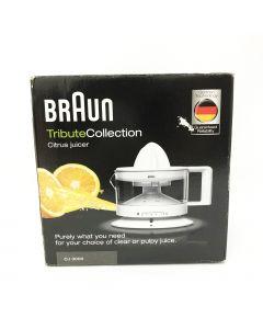 Braun TributeCollection CJ3000WH Citrus Juicer 350ML (White)