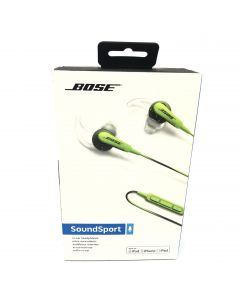 Bose SoundSport in-Ear Headphones for Apple Devices, Energy Green