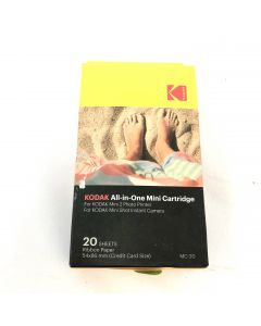 Kodak Mini 2 Photo Printer Cartridge MC All-in-One Paper and Color Ink Cartridge Refill 20 sheets