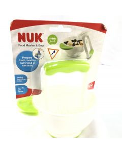 NUK FOOD MASHER AND BOWL-PACK OF 2