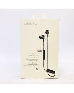 Onkyo Wireless Headphones and Microphone Model E700BT