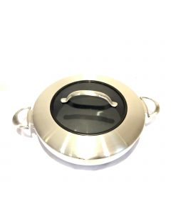 """Scanpan Stainless Steel 32"""" Covered Chef's Pan"""