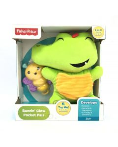 Fisher-Price Buzzing' Glow Pocket Pals Teether